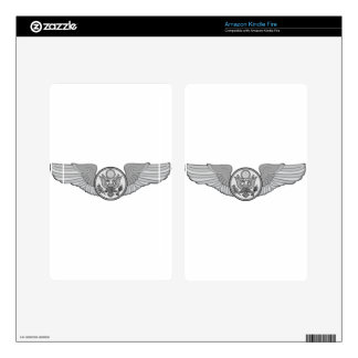 ENLISTED AIRCREW WINGS KINDLE FIRE SKINS