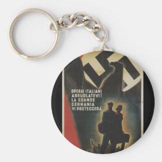 enlisted Propaganda Poster Keychain