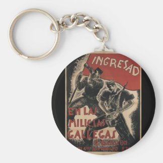 Enlistment (1936)_Propaganda Poster Keychain
