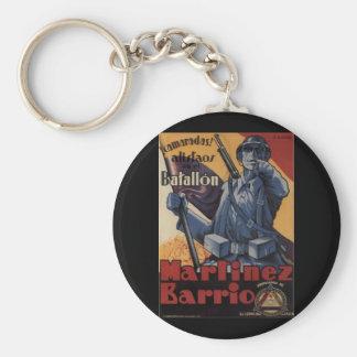 Enlistment (1937)_Propaganda Poster Keychain