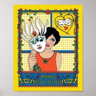 ENMASCARAR SU FEELINGS_2E_Print 8X10 Posters