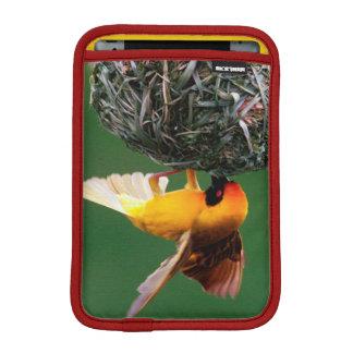 Enmascarar-Tejedor africano (Ploceus Velatus) Funda iPad Mini