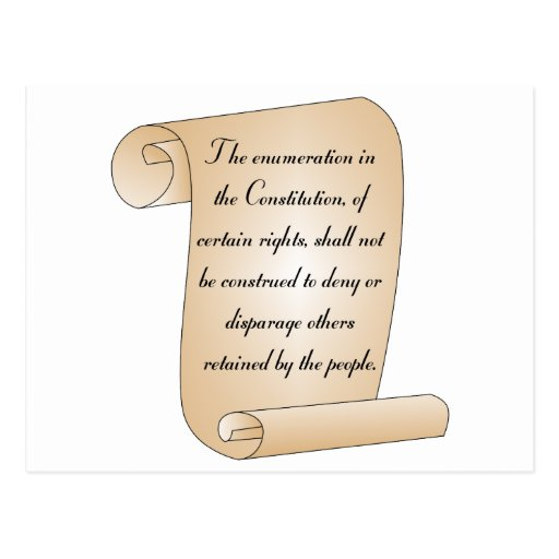 Enmienda constitucional 9 postales