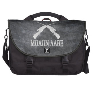 Enmienda cruzada Labe de los rifles de Molon 2da Bolsas De Portatil