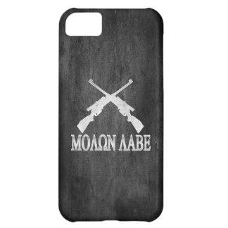 Enmienda cruzada Labe de los rifles de Molon 2da Funda Para iPhone 5C