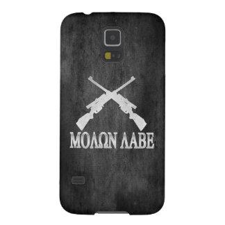 Enmienda cruzada Labe de los rifles de Molon 2da Funda Galaxy S5