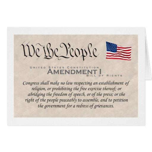 Enmienda I Felicitación