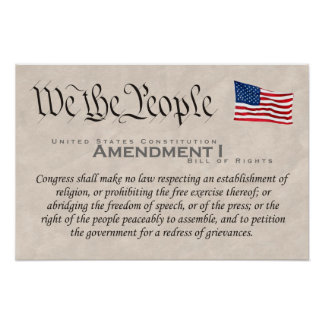 Enmienda I Impresiones
