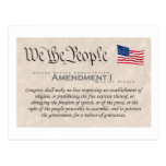 Enmienda I Postales