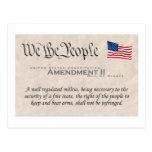 Enmienda II Postales