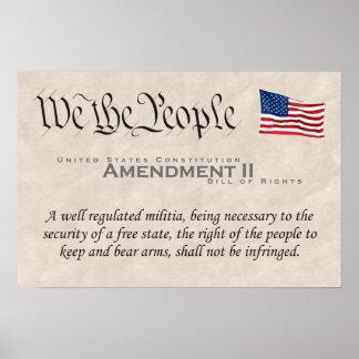 Enmienda II Póster