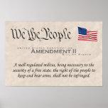 Enmienda II Posters