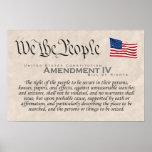 Enmienda IV Impresiones