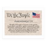 Enmienda IV Postales