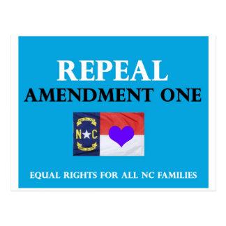 Enmienda una NC de la derogación Postales