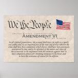 Enmienda VI Impresiones