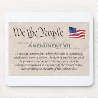 Enmienda VII Alfombrilla De Ratón