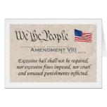 Enmienda VIII Tarjeta