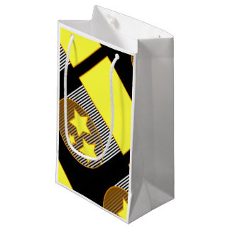 Ennegrezca 3 vagos intrépidos del regalo del fondo bolsa de regalo pequeña