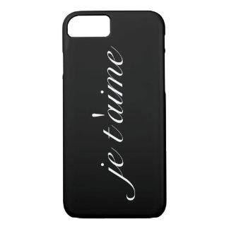 """Ennegrezca """"el caso del iPhone 7 de Barely There Funda iPhone 7"""