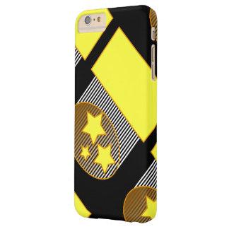 Ennegrezca la caja negra del teléfono del fondo de funda barely there iPhone 6 plus