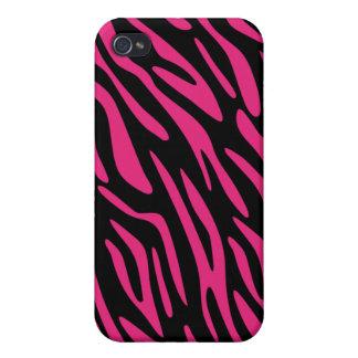 Ennegrézcase con el caso rosado del iPhone 4 de la iPhone 4/4S Carcasa