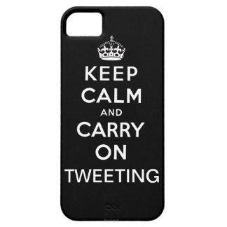 Ennegrézcase guardan calma y continúan el iPhone Funda Para iPhone SE/5/5s