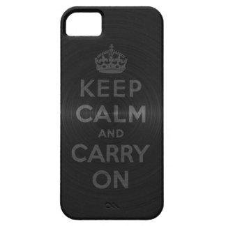 Ennegrézcase guardan calma y continúan funda para iPhone SE/5/5s