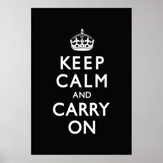 Ennegrézcase guardan calma y continúan poster