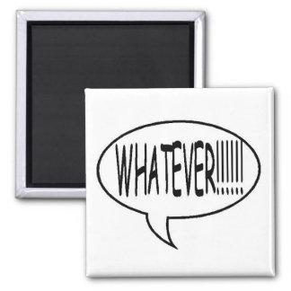 ¡Ennegrézcase lo que!!! Burbuja del discurso Imanes Para Frigoríficos