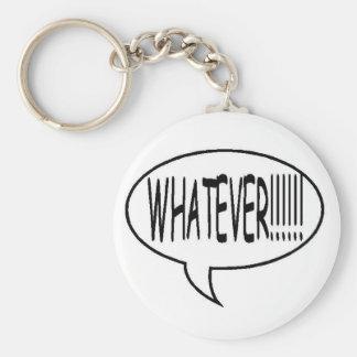 ¡Ennegrézcase lo que!!! Burbuja del discurso Llavero Redondo Tipo Pin
