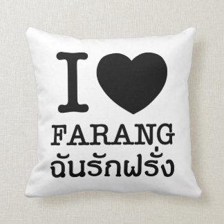 Ennegrezco el corazón (amor) Farang Almohadas