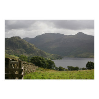 Ennerdale Water, the English Lake District Poster