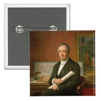 Ennio Quirino Visconti  1854 Pinback Button