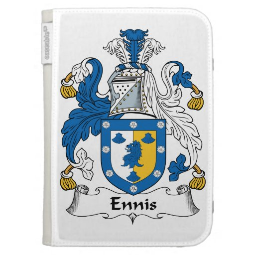 Ennis Family Crest Kindle 3G Covers