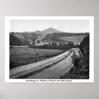 Enniskerry Co Wicklow Ireland 19th century Print
