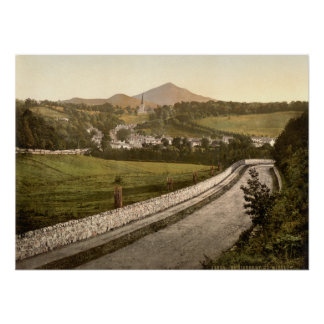 Enniskerry, County Wicklow Poster