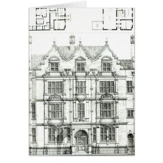 Ennismore Gardens, South Kensington Card