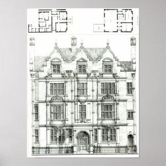 Ennismore Gardens, South Kensington Poster