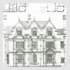 Ennismore Gardens, South Kensington Square Sticker