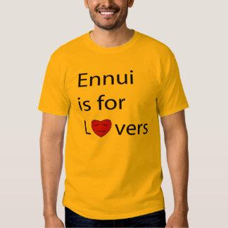 Ennui is for Lovers Men's t-shirt