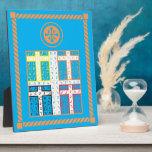"Enochian Water Elemental Tablet Plaque<br><div class=""desc"">Enochian Water Elemental Tablet</div>"