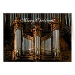 Enoja el órgano de la catedral felicitaciones