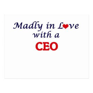 Enojado en amor con un CEO Tarjetas Postales