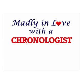 Enojado en amor con un Chronologist Tarjeta Postal