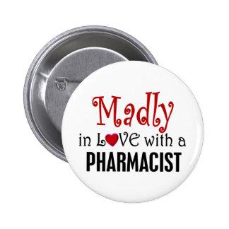 Enojado en amor con un farmacéutico pin