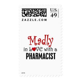 Enojado en amor con un farmacéutico sellos