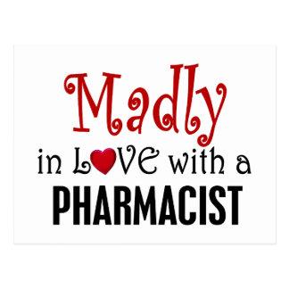 Enojado en amor con un farmacéutico postal