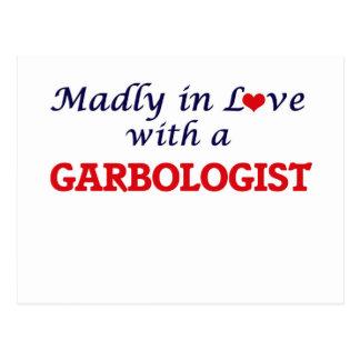 Enojado en amor con un Garbologist Postales