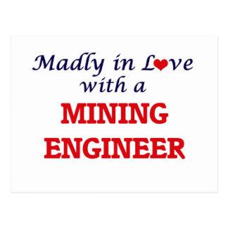 Enojado en amor con un ingeniero de minas postal